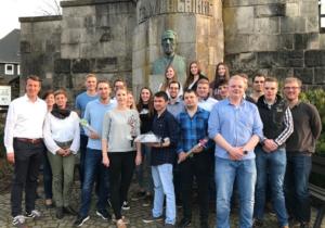Neuer Vorstand des JU-Stadtverbandes Olsberg