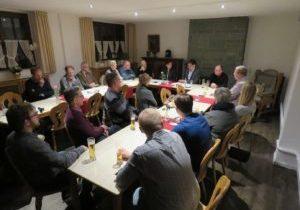 Politischer Stammtisch mit Dr. Peter LIese MdEP