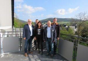 Besuch beim Umbau der ehemaligen Schule in Wiemeringhausen!