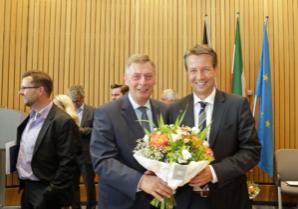 Gratulation von dem Fraktionsvorsitzenden Bodo Löttgen