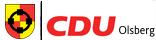 CDU Stadtverband Olsberg Logo